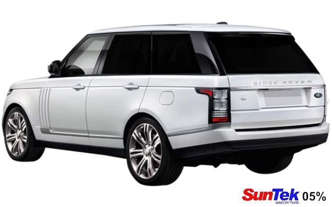Range Rover 05% tint