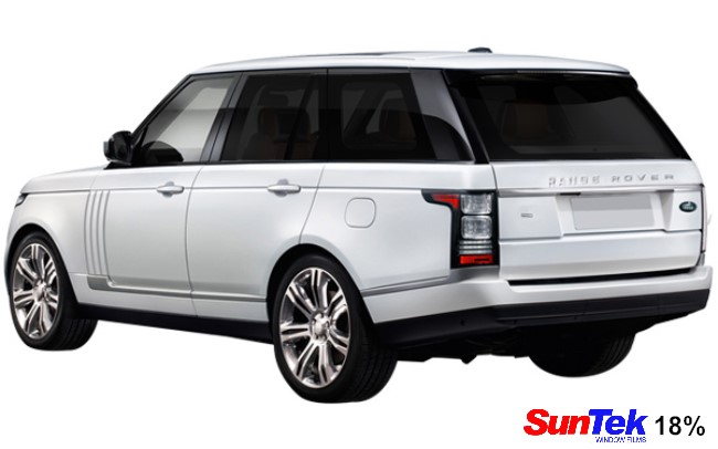 Range Rover 18% tint