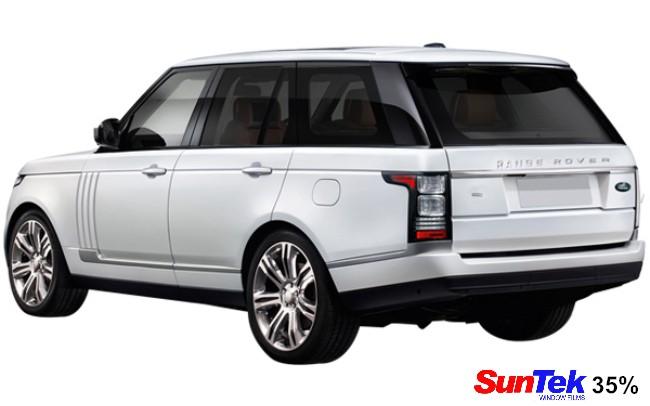Range Rover 35% tint